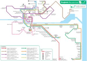 Drogheda Town Bus Network